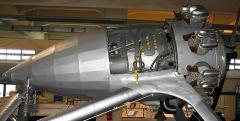 T100 - Motore a scoppio Alfa Romeo 9 cilindri a stella