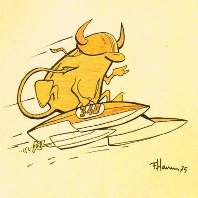 Vignetta dell'arch. Franco Harrauer su Arcidiavolo