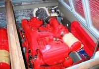 Motore di sinistra - Delta 33 - Aifo 230 HP