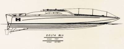 Delta Blu proiezione p.o.