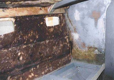 Denudazione lamellare cabina principale