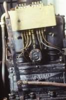 Impianto lubrificazione esterna motore americano dei primi del 900'
