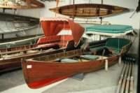 Museo di Lario - sala delle barche a remi.