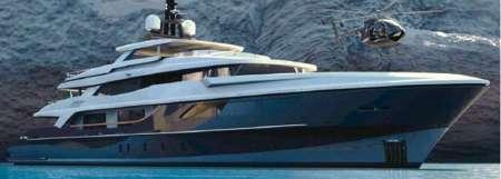 Baglietto 190' il più grande mega-yacht Baglietto varato nel 2009