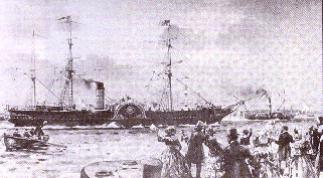 Nave Britannia 1840
