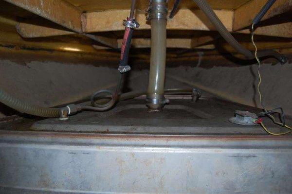 Serbatoio da 75 litri acciaio inox
