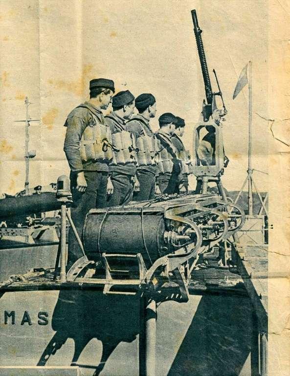 equipaggio di un MAS