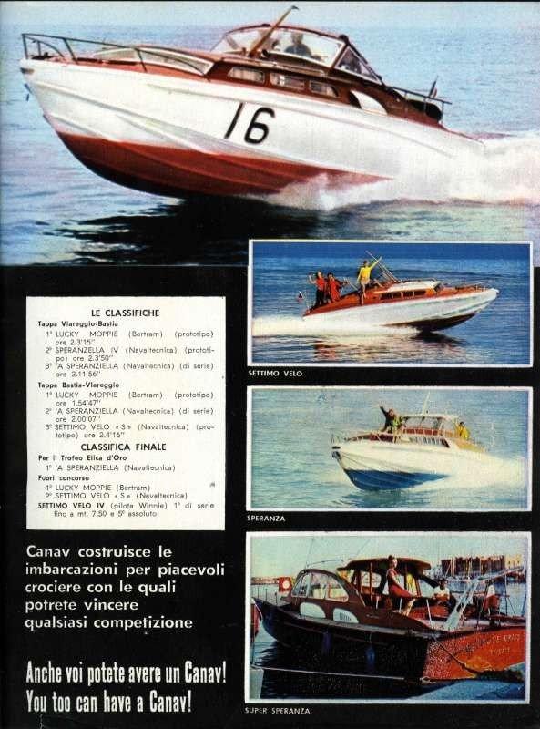 Scansione da Nautica n 30-31 sett 1964