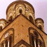 Particolare torre del Duomo di Amalfi