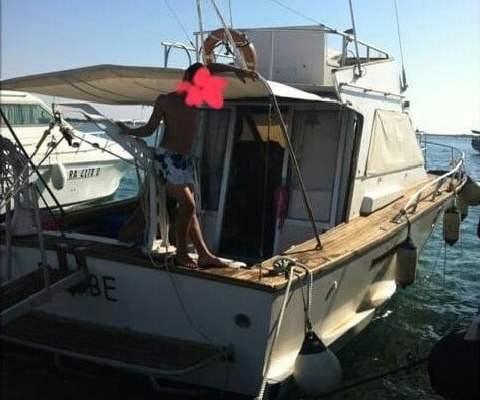 Barca d'epoca Italcraft X33