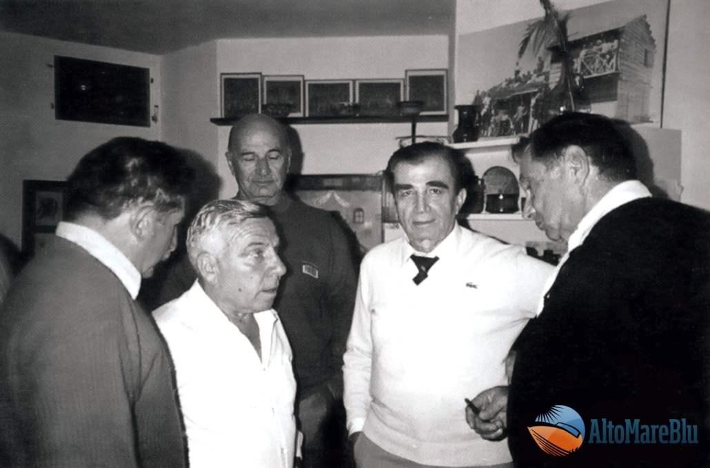 Cinque dei sei attori dell'Azione di Gaza 22.10.1948.