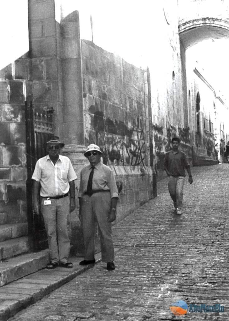 Visitando Gerusalemme 24/10/92.