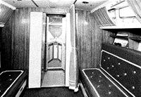Bora Major cabine interne