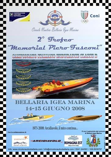 bellaria igea gara motonautica endurance 2008