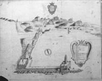 Porto Anzio disegno 1750