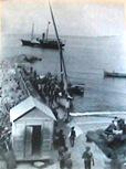 Marina-Piccola-inizi-900-feluca-passeggeri-Sorrento-Napoli-Sorrento