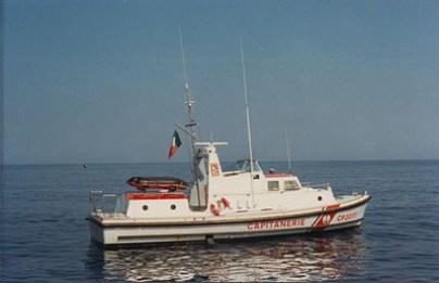 Storia delle Motovedette Capitaneria di Porto tipo Nelson CP 2077