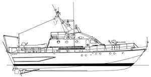 Barca classica Nuvoletta