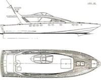 NAZCA - disegno del MotorYacht Levi