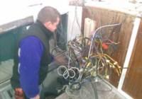 Smontaggio impianto elettrico