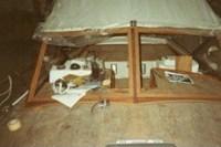 19. Fasi di lavorazione e nuovo armamento del ponte e pozzetto