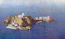 Isolotto-S.Martino-Siluripedio-base-lancio-collaudi-siluri-cartolina a colori-1943