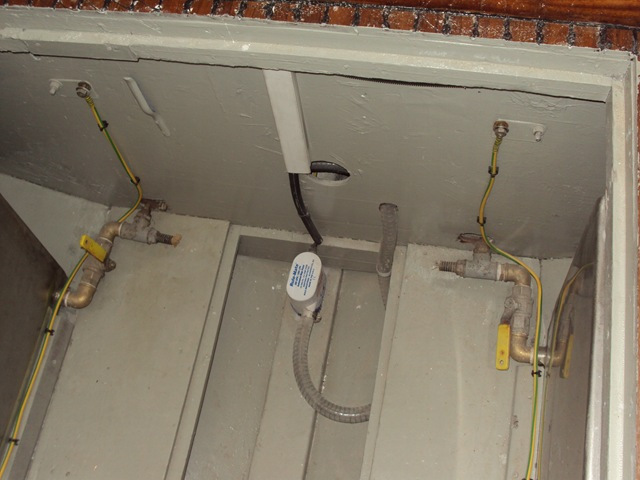 Vano serbatoi ed impianto protezione elettrogalvanica