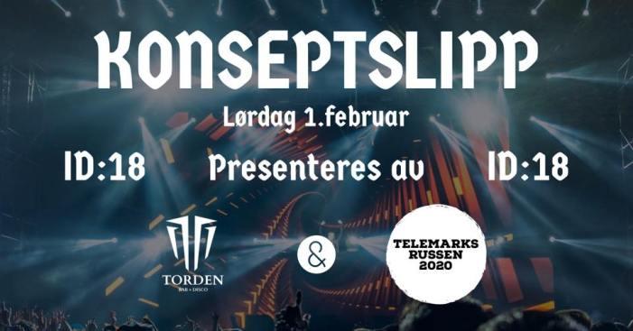 KONSEPTSLIPP – Telemarksrussen 2020 på Torden