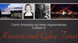 Konsert med Gylne Toner i Langesund kirke