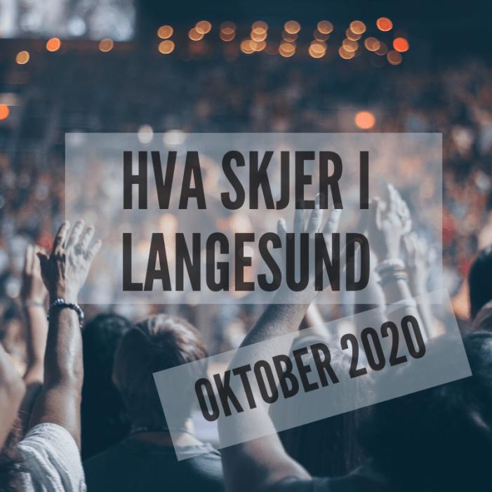 Hva skjer i Langesund oktober 2020