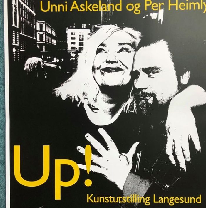 Up! Kunstutstilling galleri POP Langesund