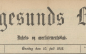 Langesund Blad onsdag 10.juli 1918