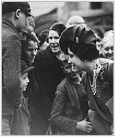 Queen Mother with Children in WW2
