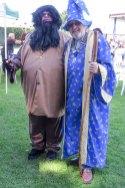 Rubeus-Hagrid-(Jon-Colville)-&-Merlin