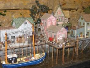 The wharf of Foss Landing