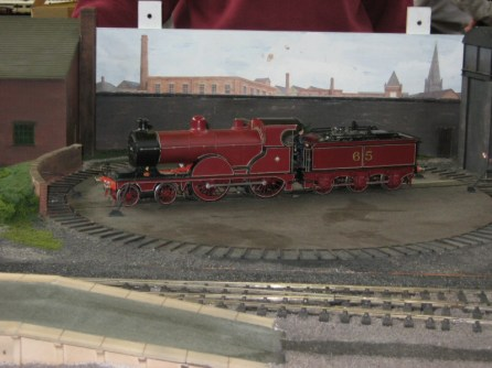 The loco turntable on Normandy Junction
