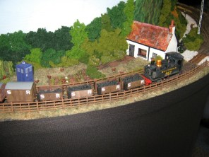 The DCC controlled, OO9 East Hants Light Railway