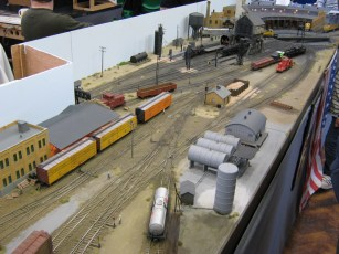 An overview of the HO American Roundhouse