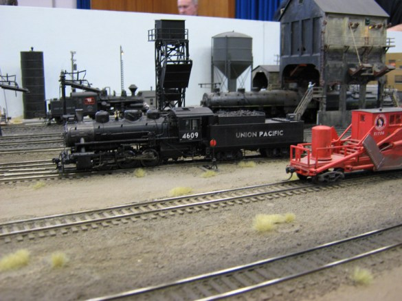 Locos on Roundhouse