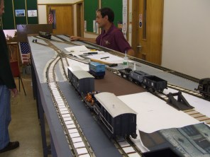 View from the other end of the layout