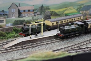 Locos waiting to depart Bigbury
