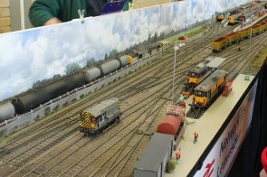 An overview of the O Gauge 'Leavesdon'