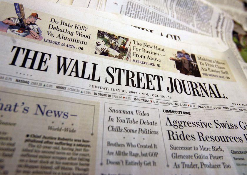 WALL STREET JOURNAL ALTOPASCIO