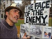 Brian Haw il pacifista di westminister ci ha lasciato