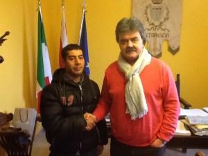 Marchetti con Mouhad Hassan