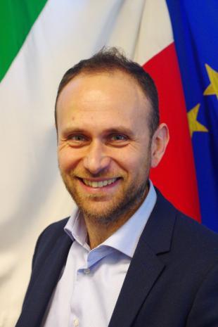 L'assessore Gabriele Bove
