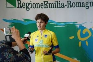 Lucia Bruni intervista viaggio bici Roma Bruxelles