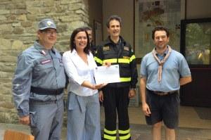 Corso scout, Gazzolo, vigili fuoco, carabinieri (Spettine, Pc, 19 luglio 2017)