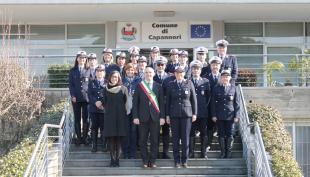 La polizia municipale di Capannori