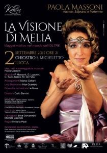 Manifesto La Visione di Melia 70x100-1